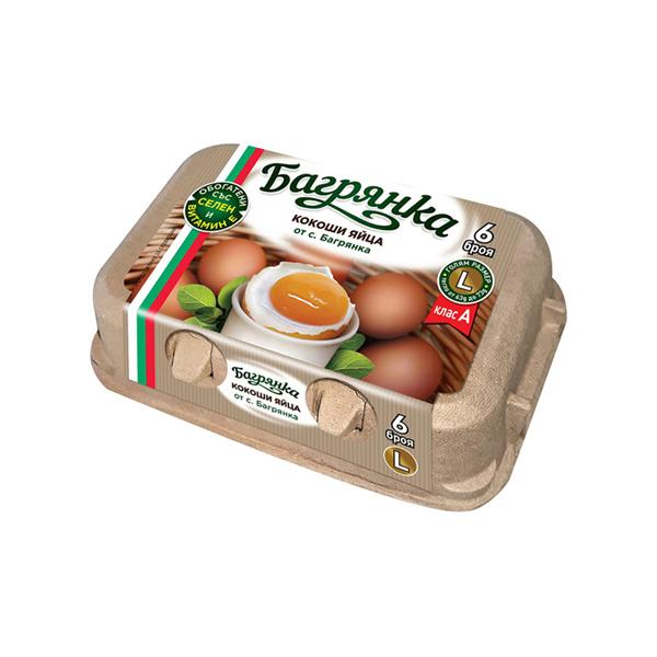 яйца 6 бр